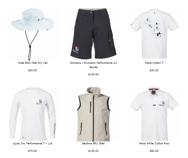 Musto – RORC Caribbean 600 Gear in Store
