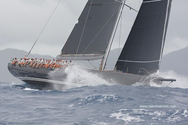 Nikata's Mike Broughton walks the  RORC Caribbean 600 course