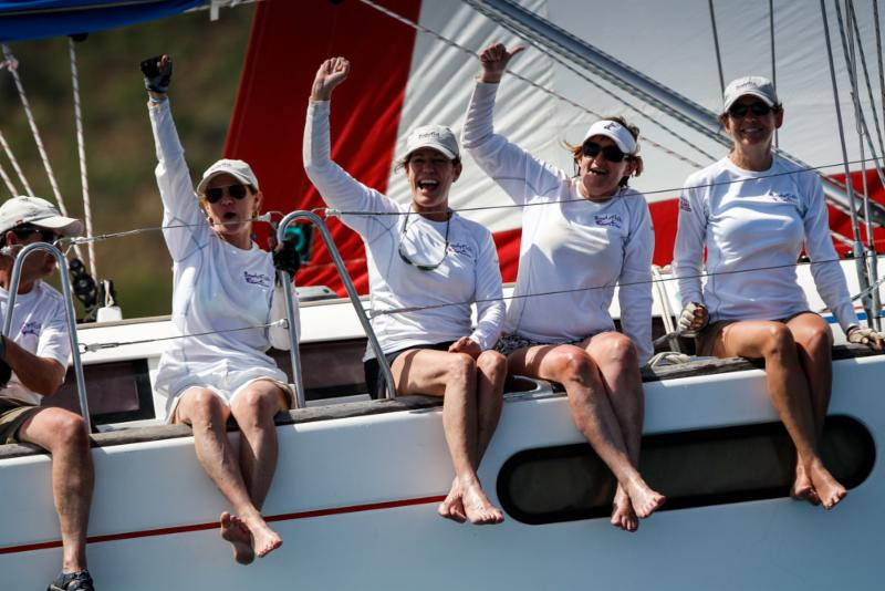 English Harbour Rum Race Day 1 + VIDEO 96 degrees in the shade