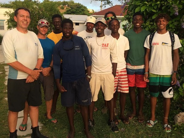 Six boys have become sailing instructors