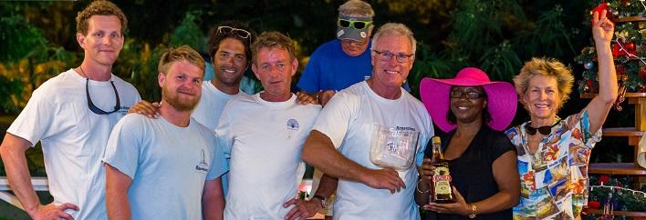 HighTide Christmas Series 2016 at the Antigua Yacht Club