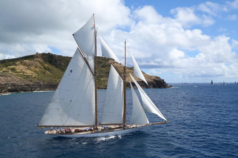 Antigua Bermuda Race welcomes schooner Eleonora