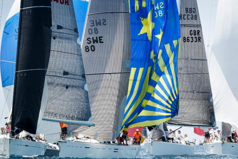 The world of sailing comes to  Antigua Sailing Week