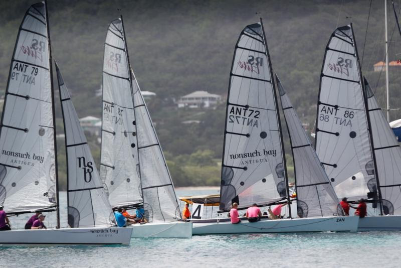 Eight Teams contest the  Nonsuch Bay RS Elite Challenge