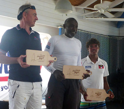 Karl James wins Caribbean Laser Championships