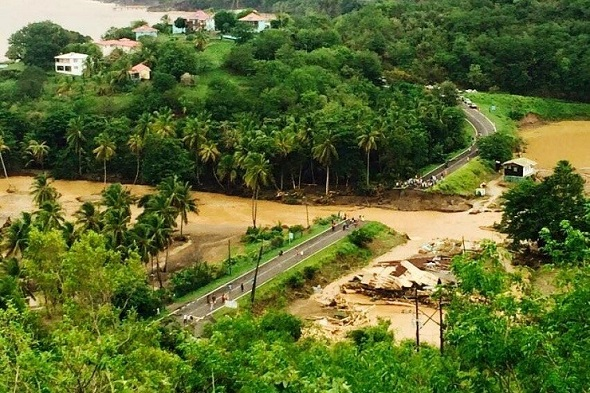 Relief for Dominica