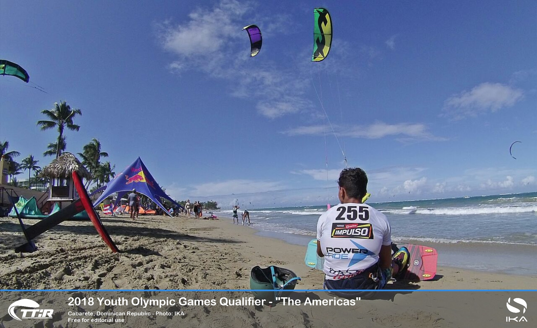 Antigua, Brazil, Dominican Republic and Venezuela win first direct qualifier spots for Kiteboarding Youth Olympics in perfect Cabarete conditions