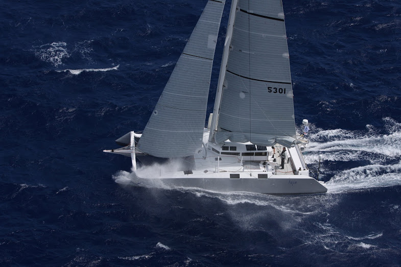 Fujin crew rescued in RORC Caribbean 600