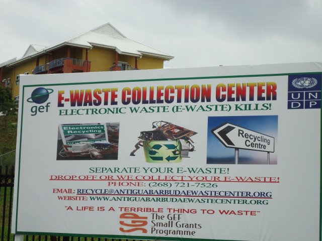 Recycling/reusing/repurposing here in Antigua Barbuda