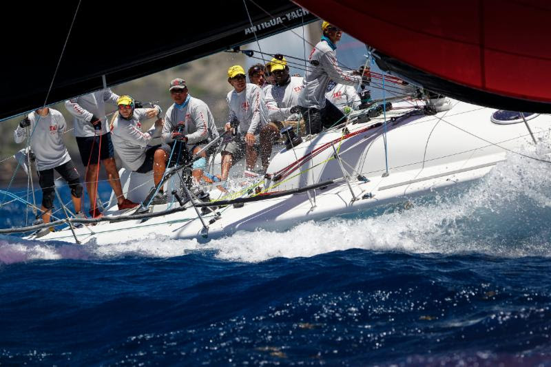 A spicy start to Antigua Sailing Week