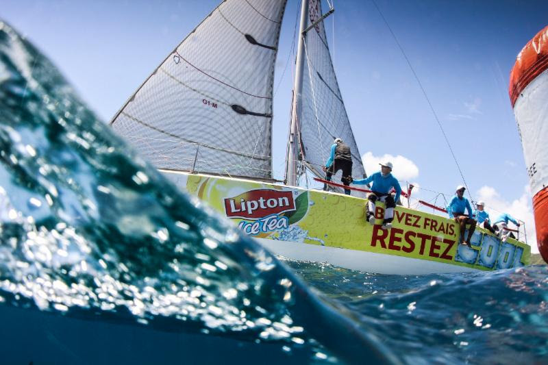 Leaders emerge on Johnnie Walker Race Day 4 Antigua Sailing Week