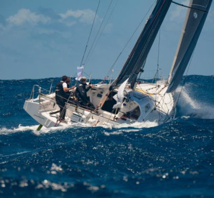 North by North West- Antigua Bermuda Race Day Two