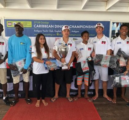 Team Antigua Wins the 2018 CSA Caribbean Dinghy Championships