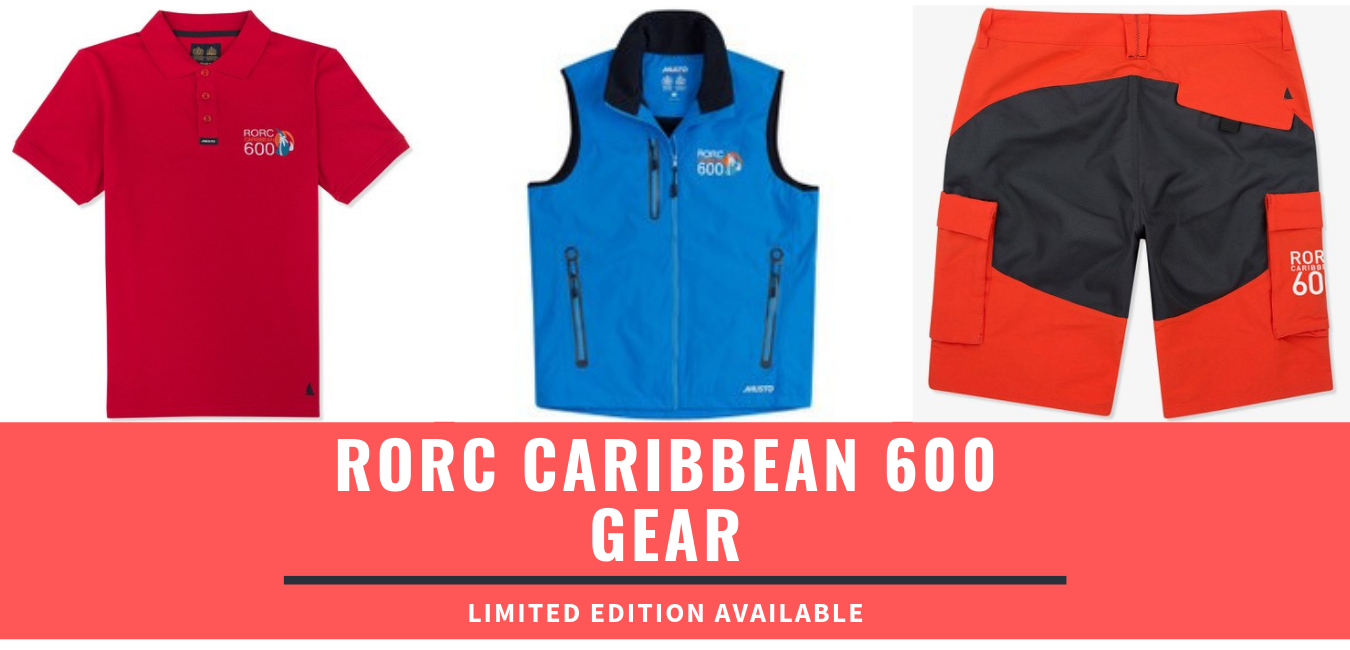 Limited Edition RORC Caribbean 600 Gear Available.