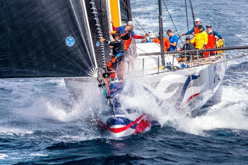 Magic Moment- Monohull line honours for Wizard