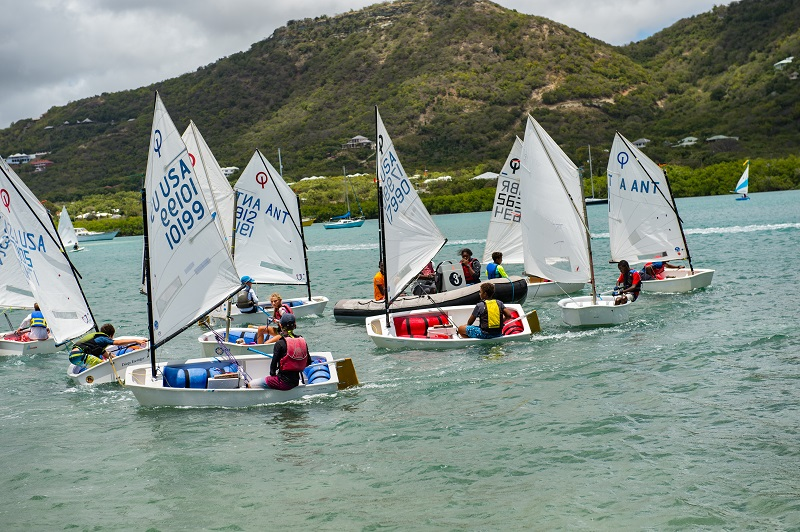 Youth to Keel (Y2K) Participants Prepares for Antigua Sailing Week 2019