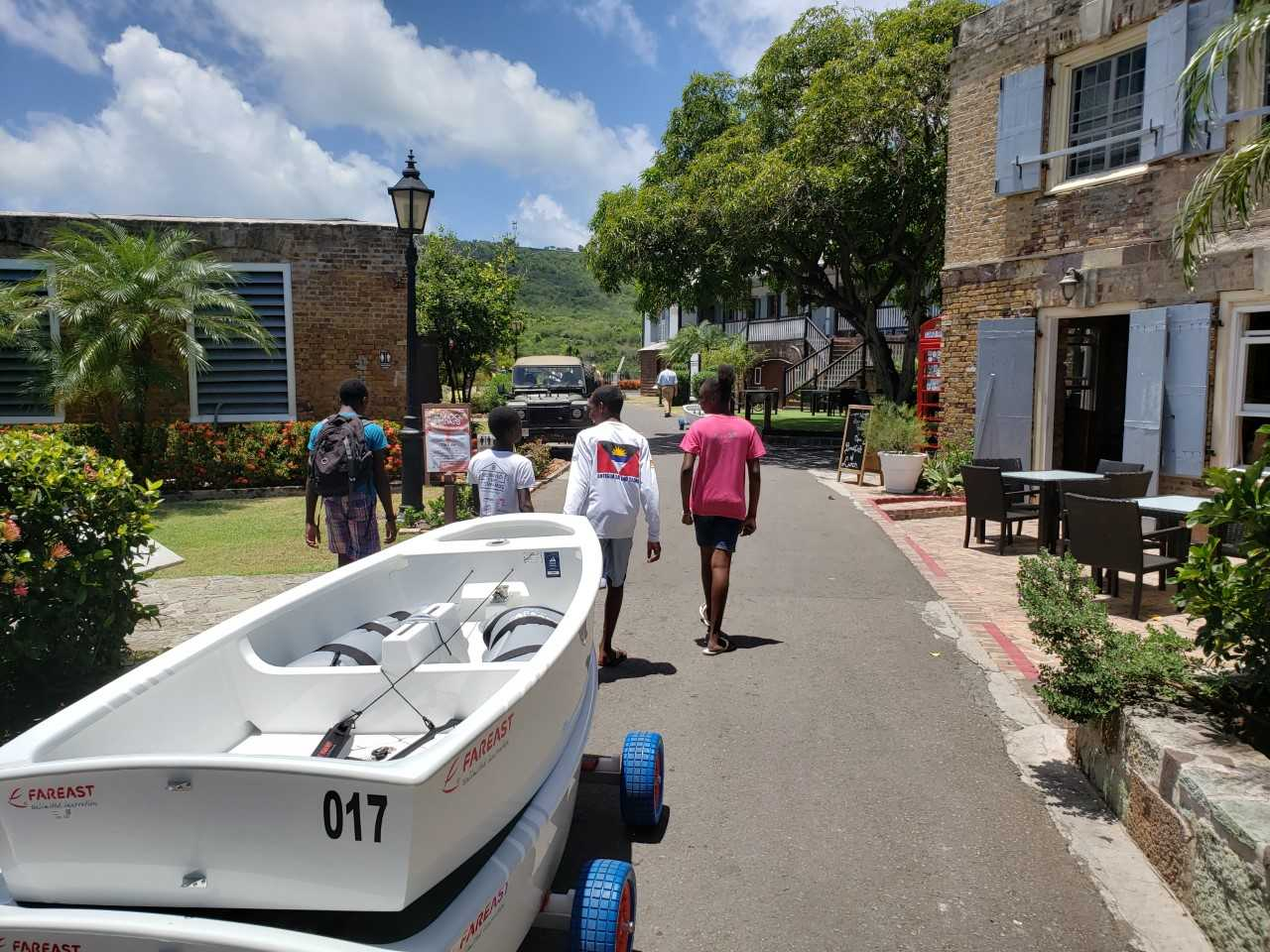 National Parks Authority mobilized for World Dinghy Championships