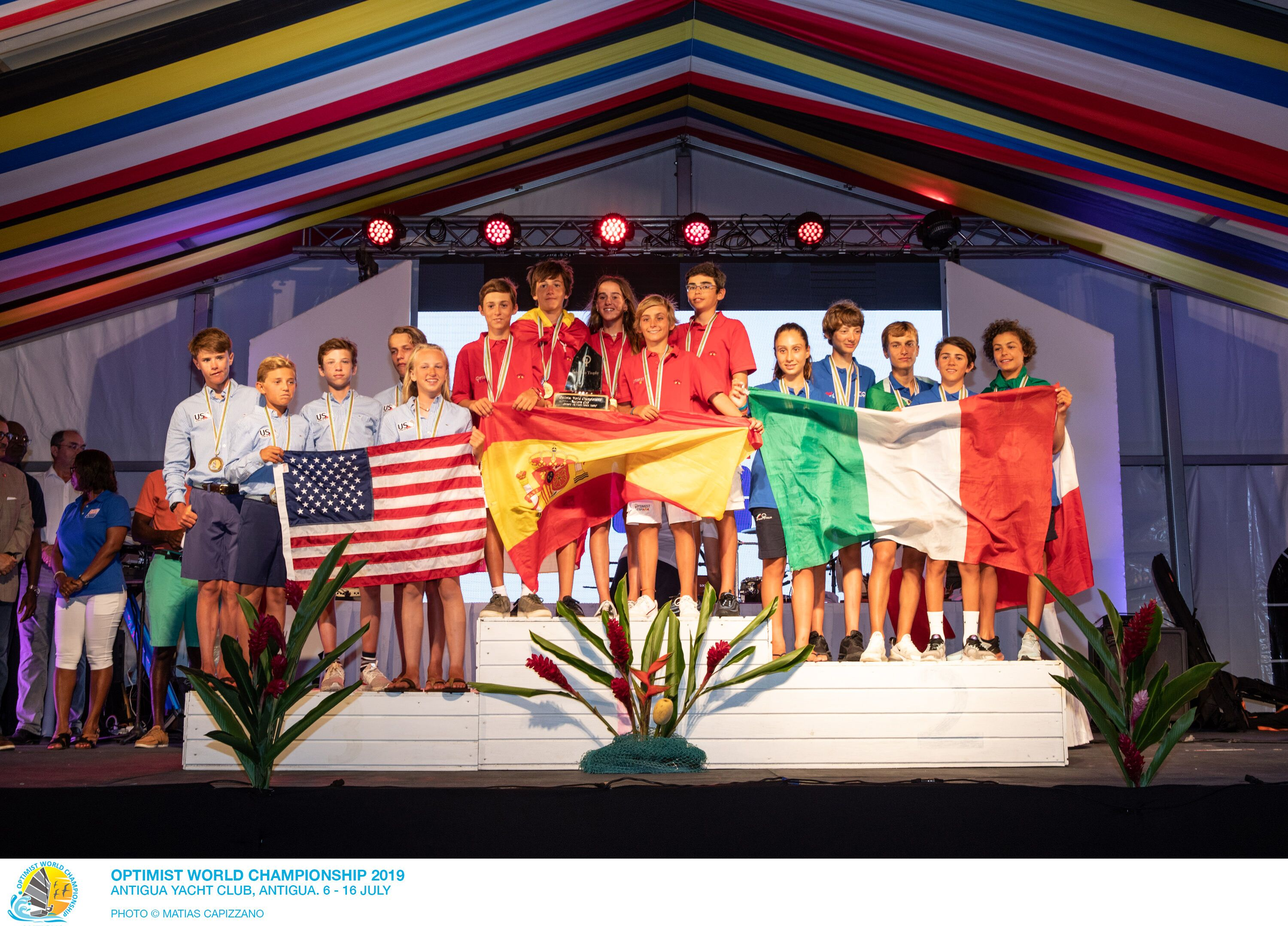 Optimist World Championship Closing Ceremony