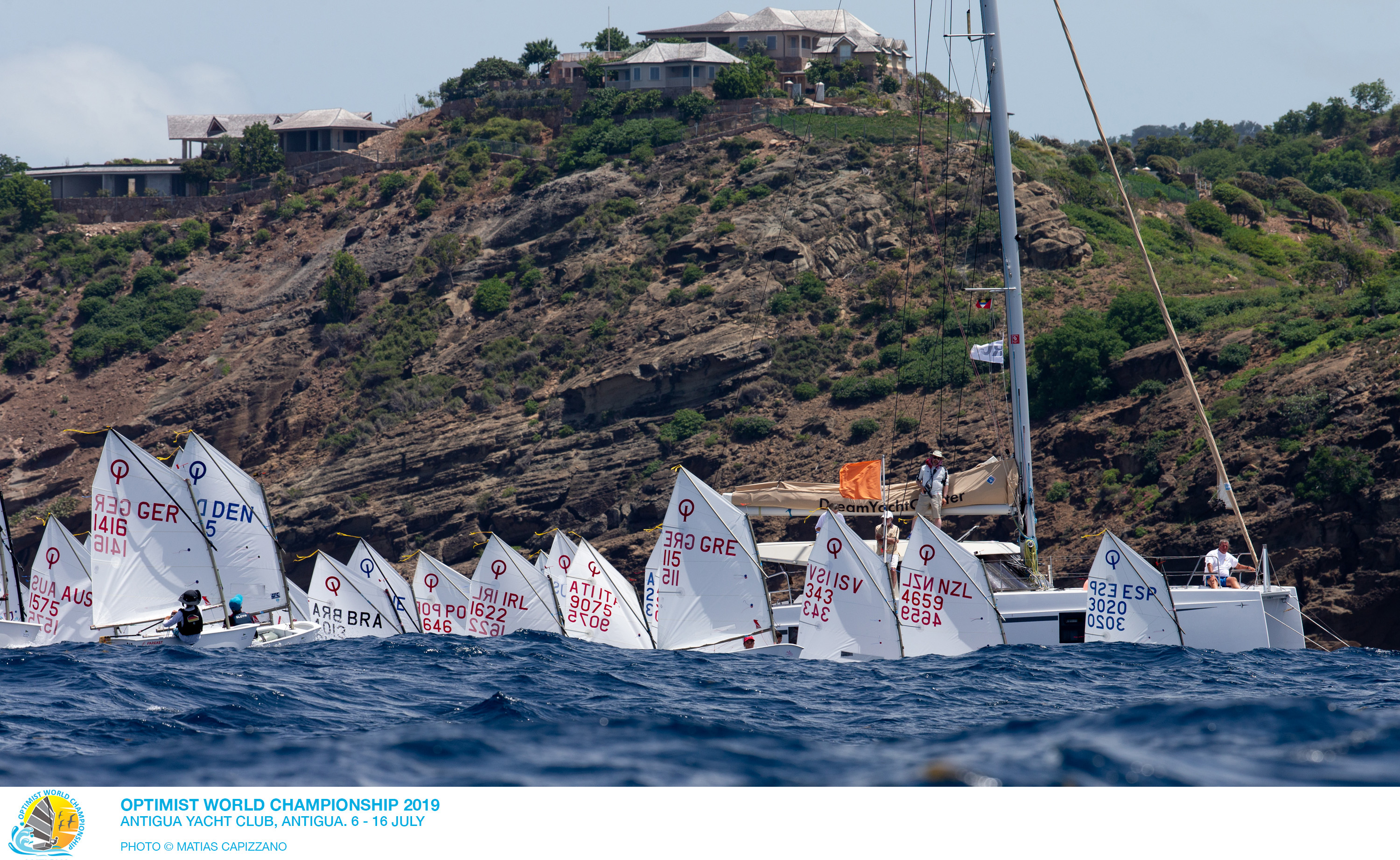 2019 Optimist World Championship, Antigua.