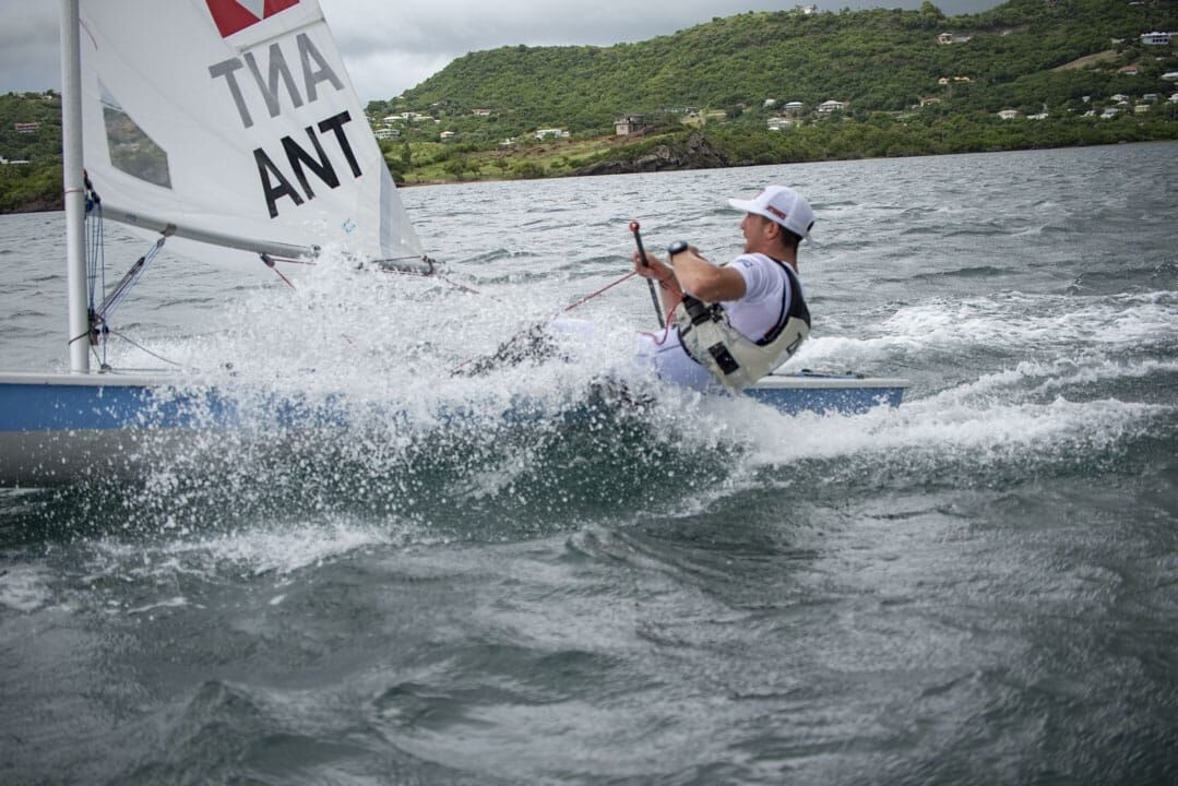 Winners celebrate as the 2019 Caribbean Dinghy Championships wrap up