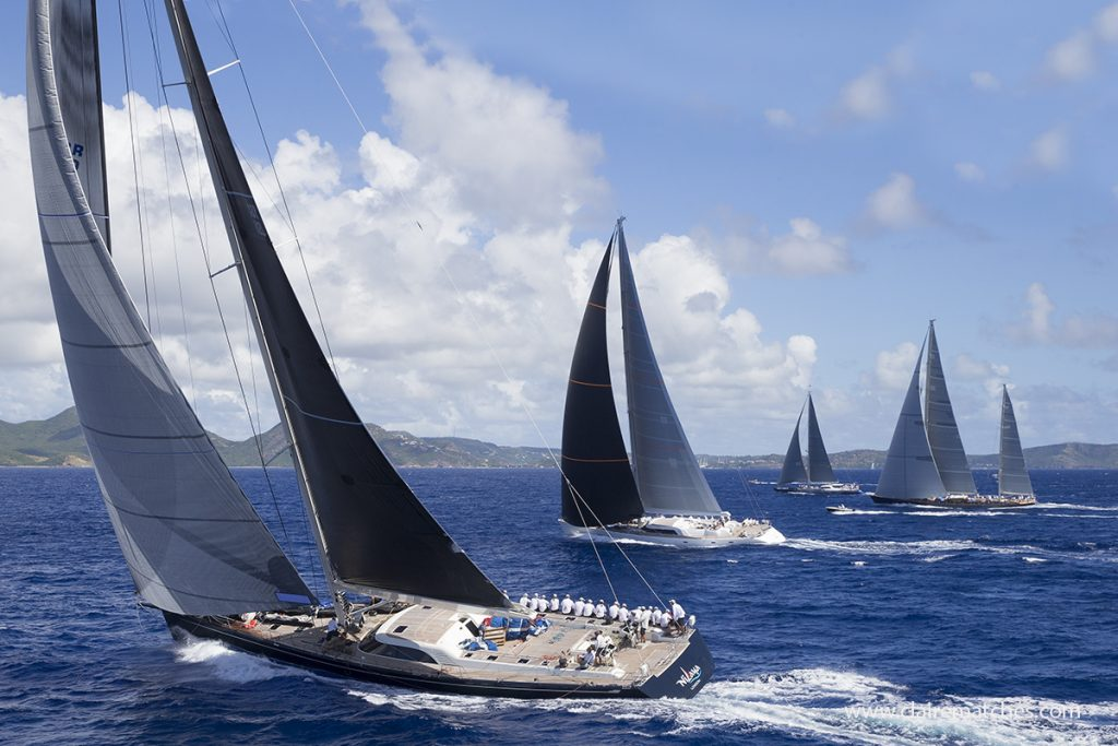Bigger than Ben Hur- Superyacht Challenge Antigua