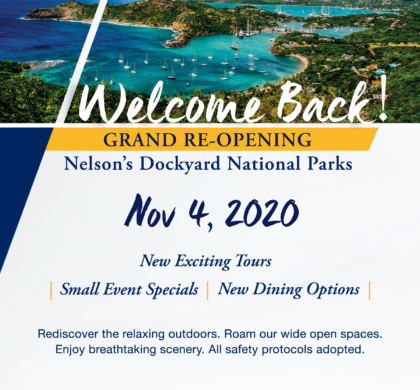 Nelson's Dockyard National Park poised for November reopening